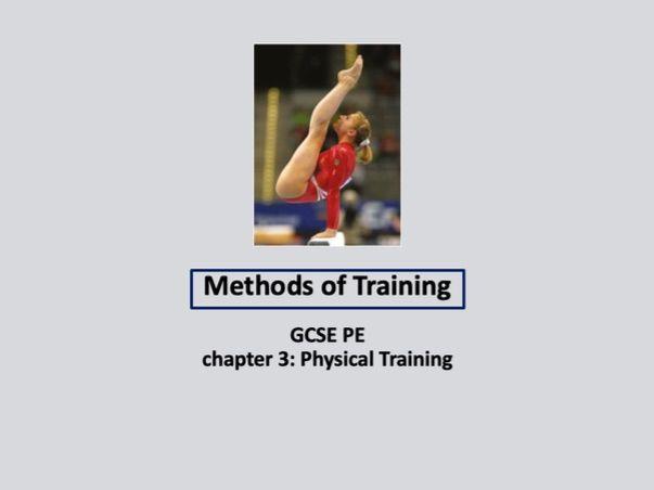 GCSE 9-1 PE - Methods of Training