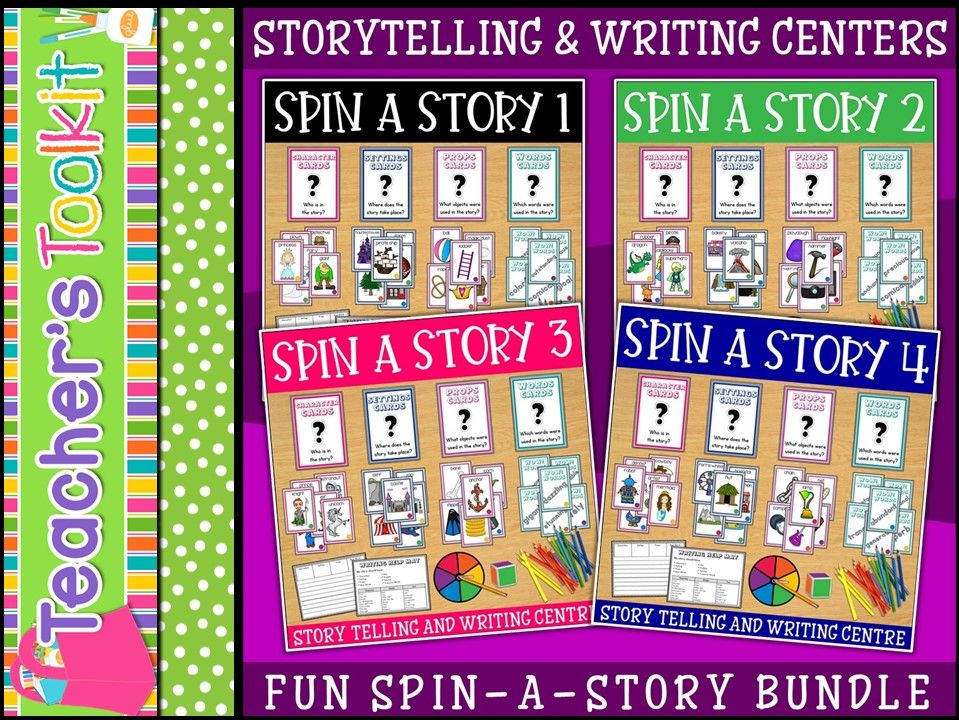 Storytelling and Writing Stations Centres Bundle