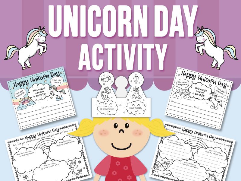 Unicorn Day Activity