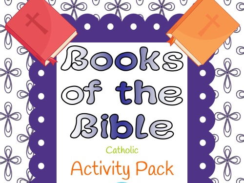 Books of the Bible Activity Pack - Catholic