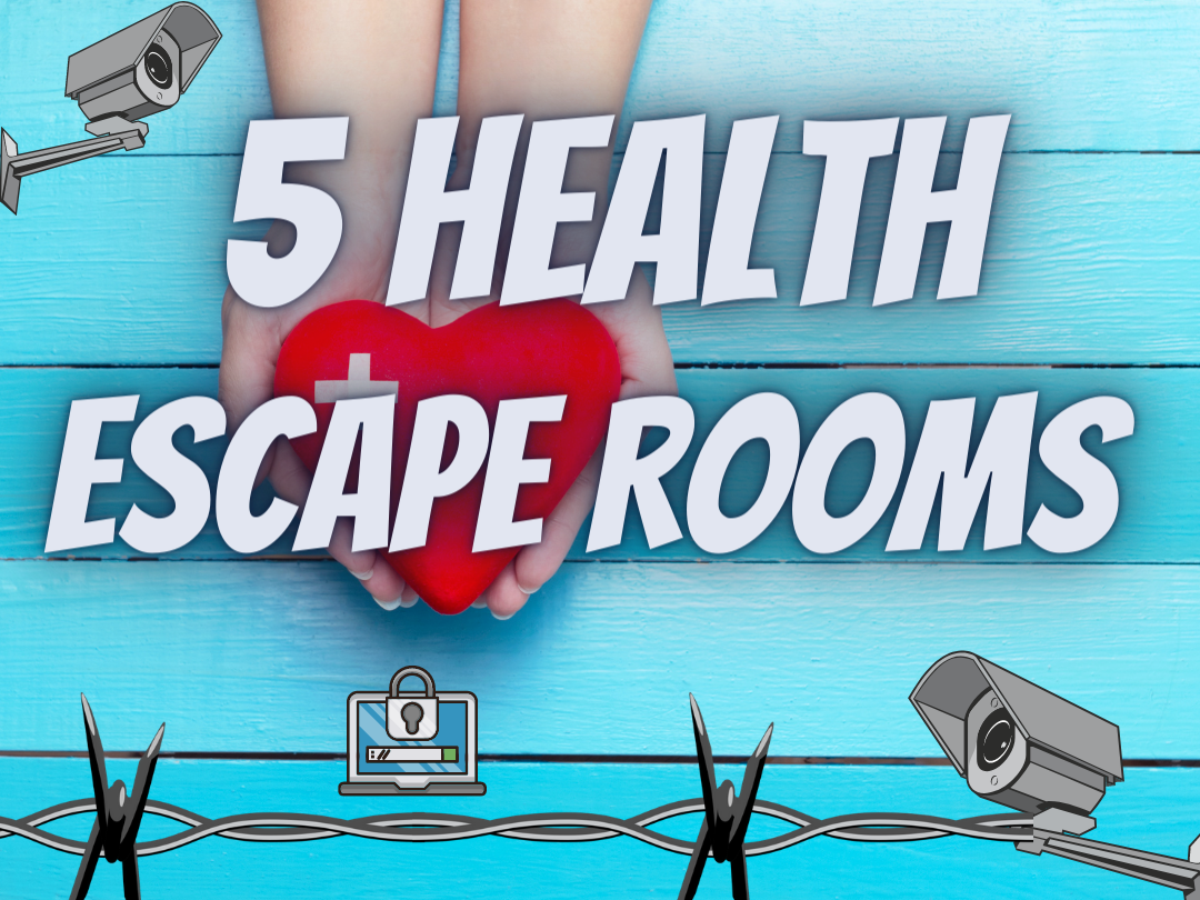 Wellbeing and Health Escape rooms