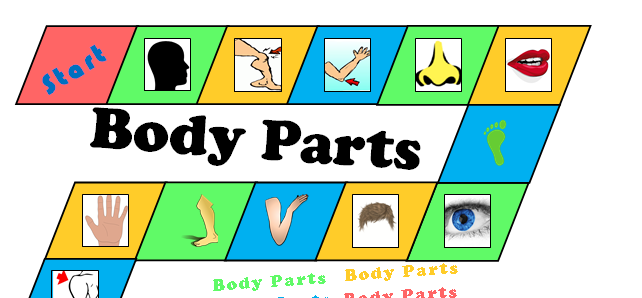 Body Parts - Board Game (A3)