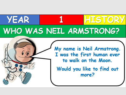 KS1 History - Who was Neil Armstrong?