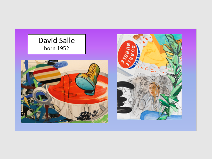 David Salle and James Rosenquist project