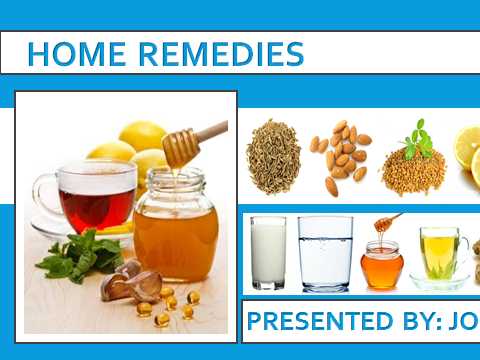 HOME REMEDIES FOR HEALTH DISORDERS