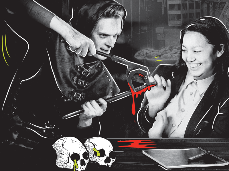 Script Writing and Performance (Ages 12-14) - A London Dungeon resource