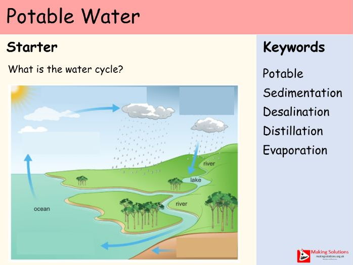 AQA Chapter 10 - Lesson 2 - Potable Water