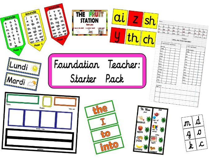 Foundation Stage Teacher Starter Pack
