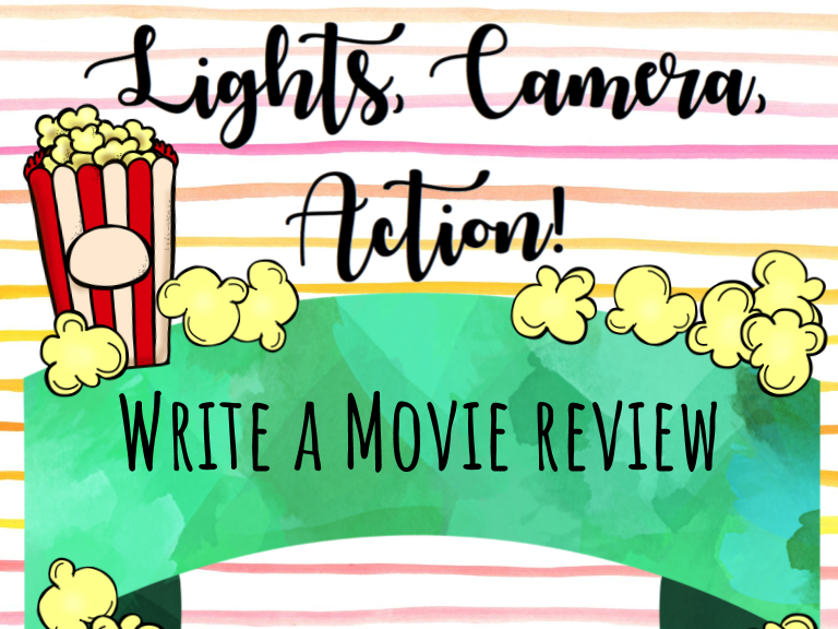 Write a Persuasive Movie Review FREEBIE!