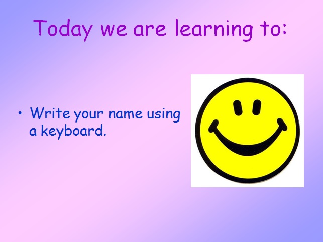 Computing (Year 1) - Using a word bank (6 lesson plans and presentations)