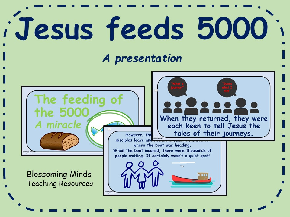 Jesus' Miracles - Feeding of the 5000 presentation
