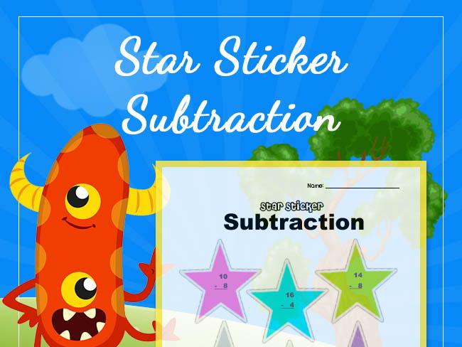 Star Sticker Subtraction