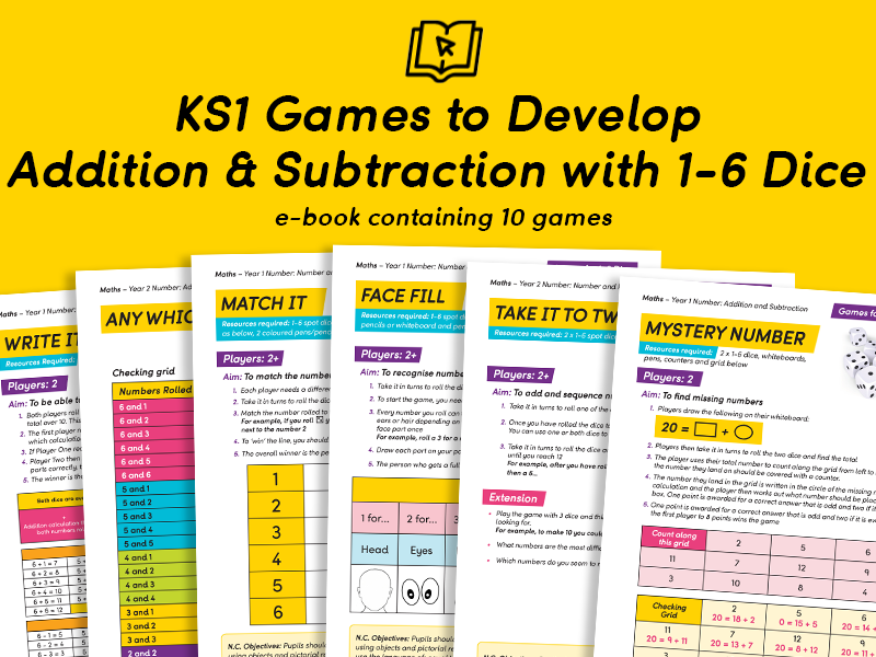KS1 Games for Addition and Subtraction