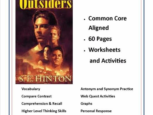 hardships and triumphs in the outsiders by s e hinton