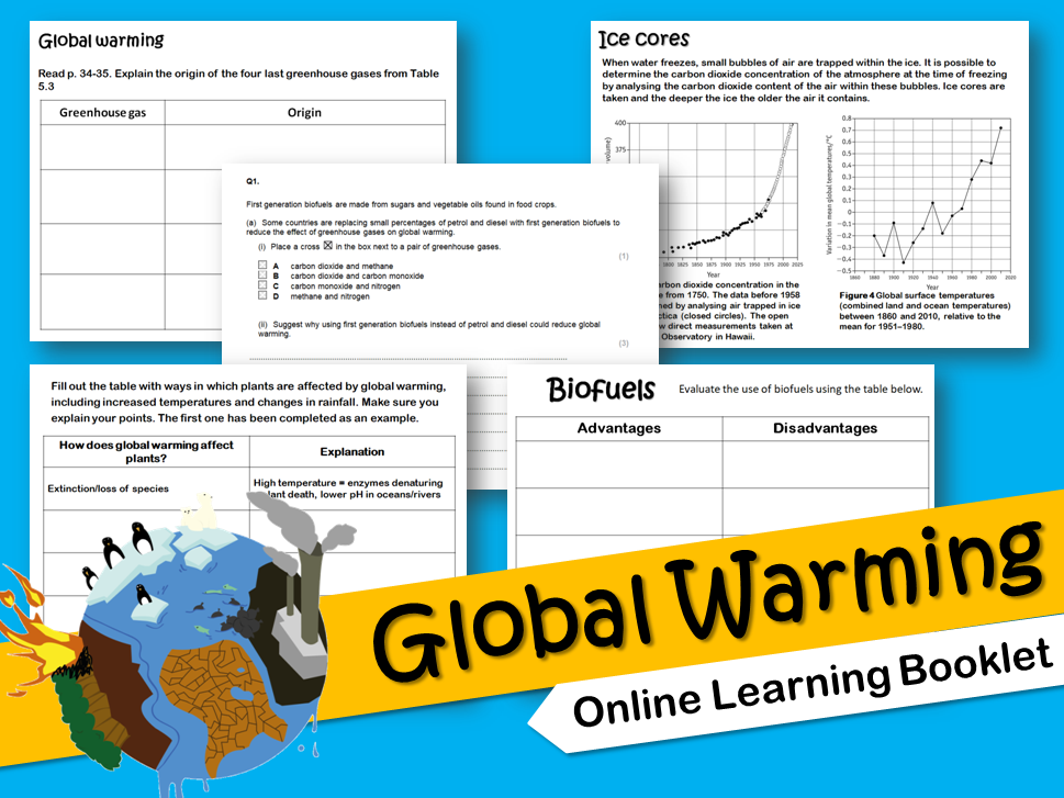 Global Warming Flipped Learning