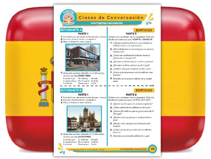 Edificios - Spanish Speaking Activity