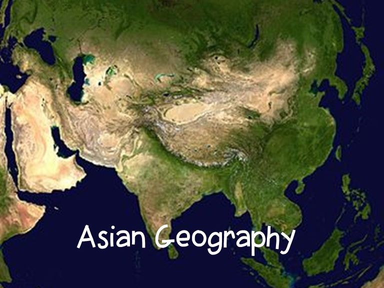 Asian Geography