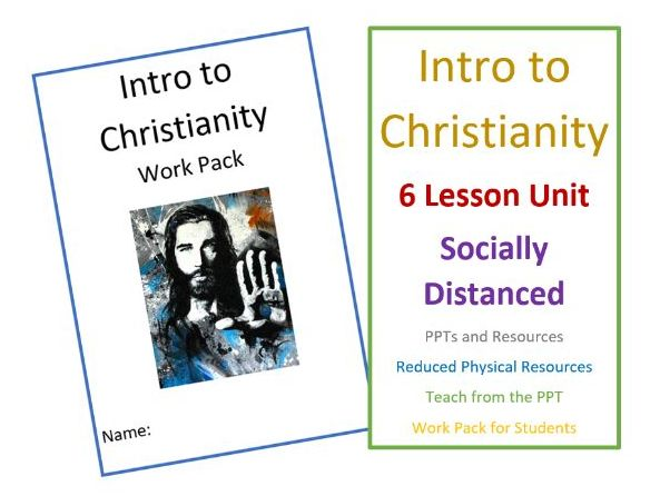 KS3 Intro to Christianity - Socially Distanced Unit of Learning