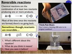 KS4 C8.6 Reversible Reactions