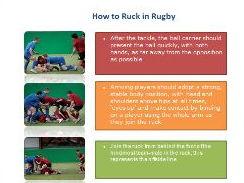 Rugby Reciprocal Coaching Cards - Tackling, Rucking & Tactics