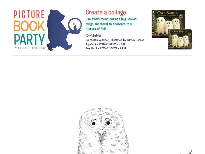 Owl Babies Activity Sheet