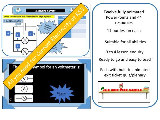 Current Electricity KS3 - Everything You Need