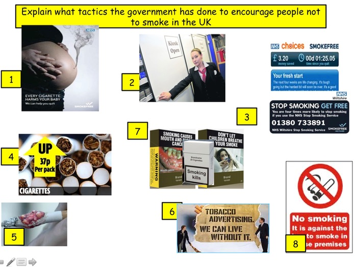 PSHE: Smoking and how it affects you and society