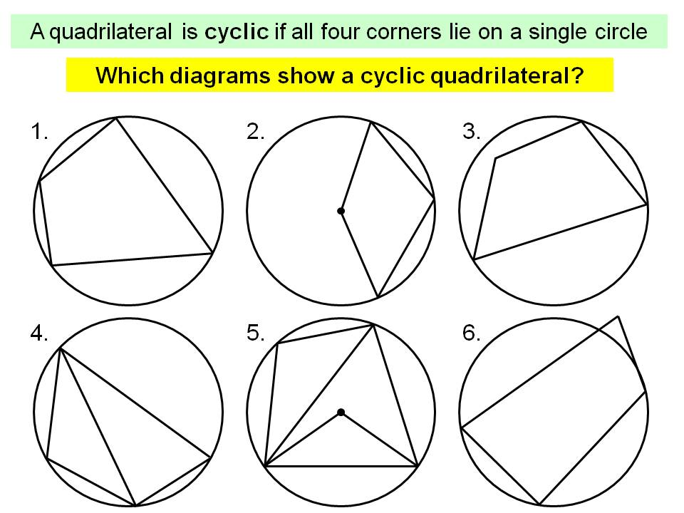 Circle theorems lesson 4
