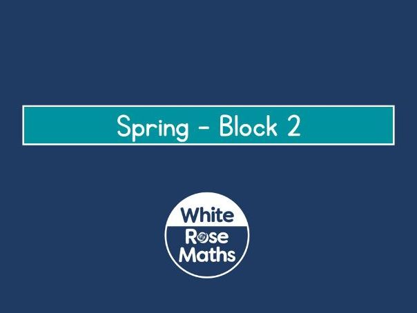 White Rose Maths Year 3 - Spring Block 2 - Money