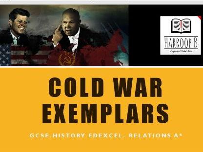 GCSE EDEXCEL History Cold War Exemplars