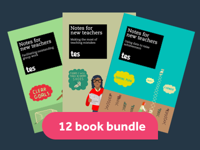 Notes for new teachers  e-book bundle