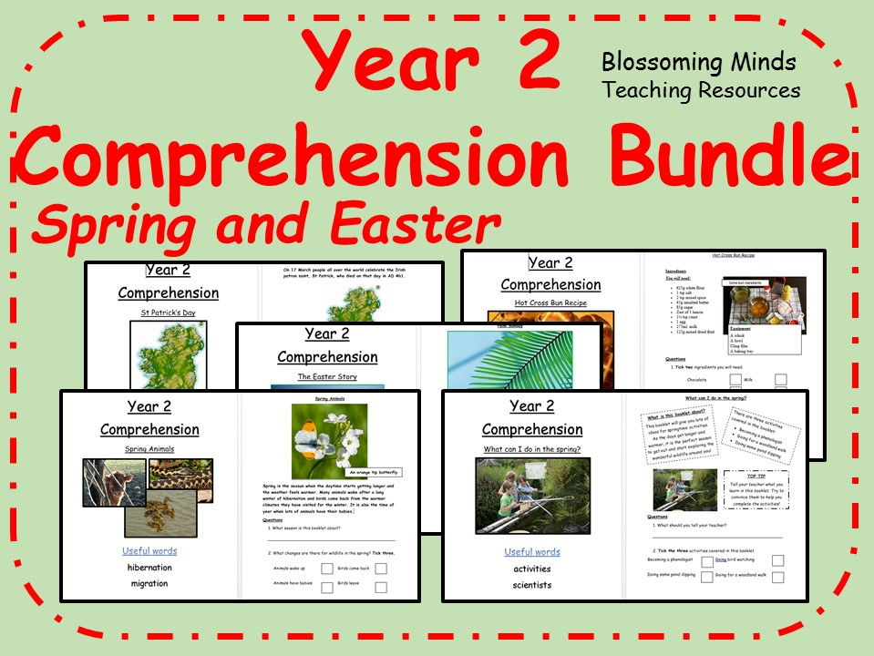 Spring and Easter Comprehension