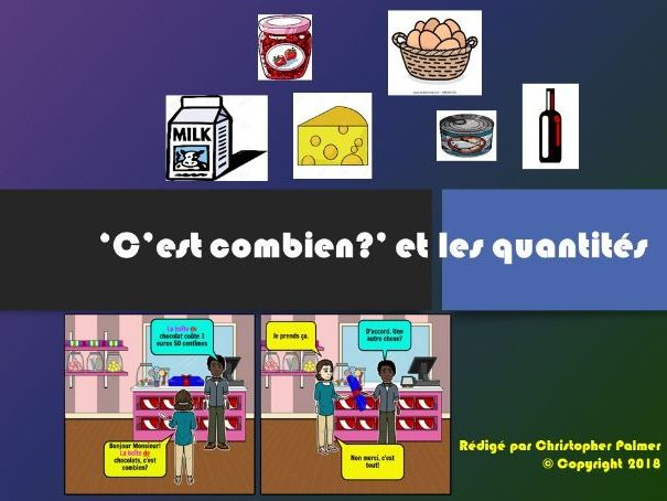 French: C'est combien and quantities