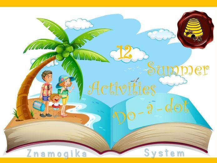 12 Summer Do-a-dot Activities