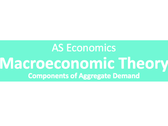 A Level Economics Macroeconomic Theory