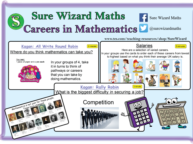 Careers in Mathematics Lesson