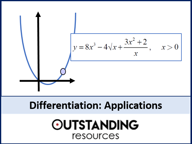 Differentiation 2 - Gradients, Tangents and Basic Problems (+ worksheet)