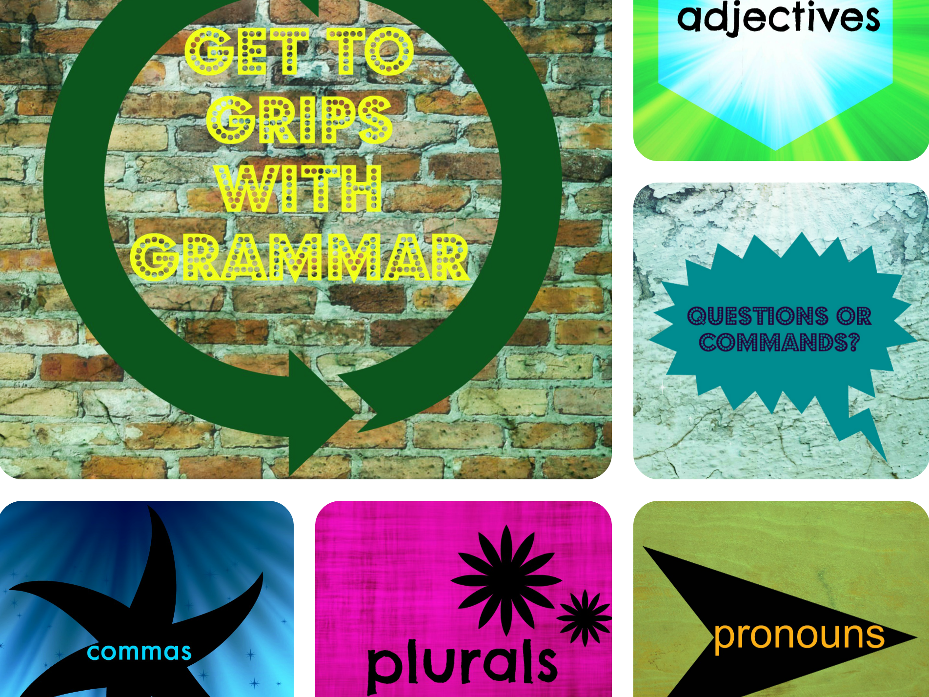 Spelling, punctuation and grammar revision quiz  for SATS