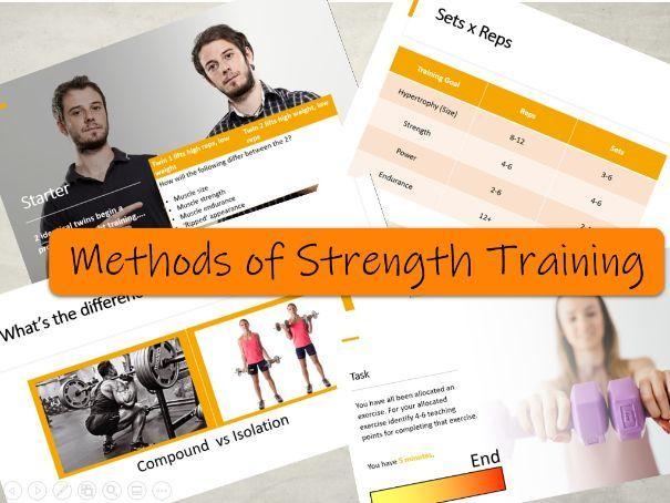BTEC Sport L3 - Methods of Strength Training