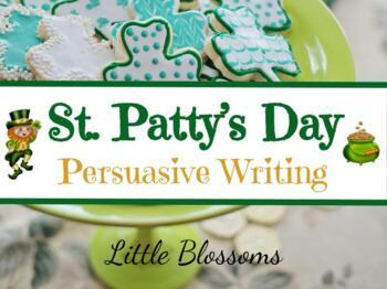 St. Patrick's Day Persuasive Writing Project