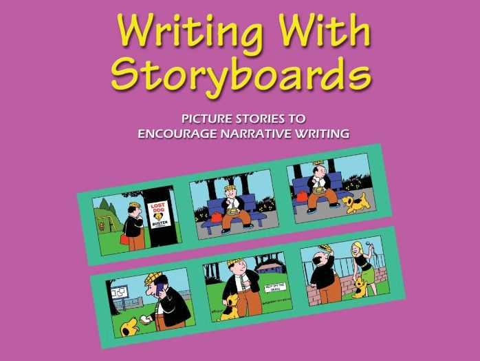 WRITING WITH STORYBOARDS BOOK 1