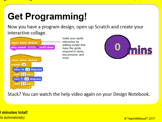 KS3 Computing Scratch Project - All About Me (2 hours)- Teacher Presentation & Tools
