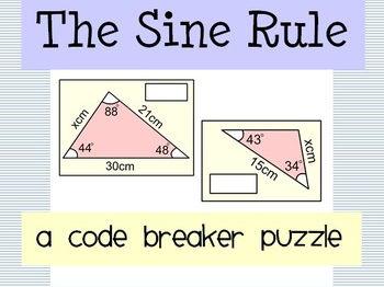 Sine Rule Codebreaker