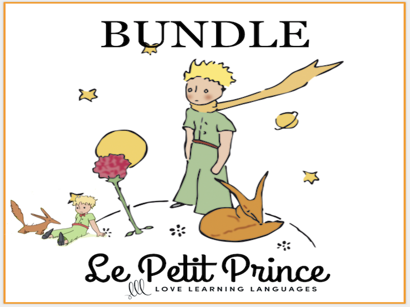 Le Petit Prince - Bundled French Resources