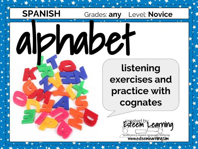 Alphabet Practice in Spanish