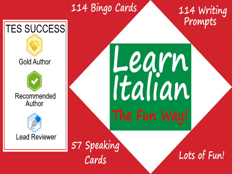 Learn Italian The Fun Way - Bundle