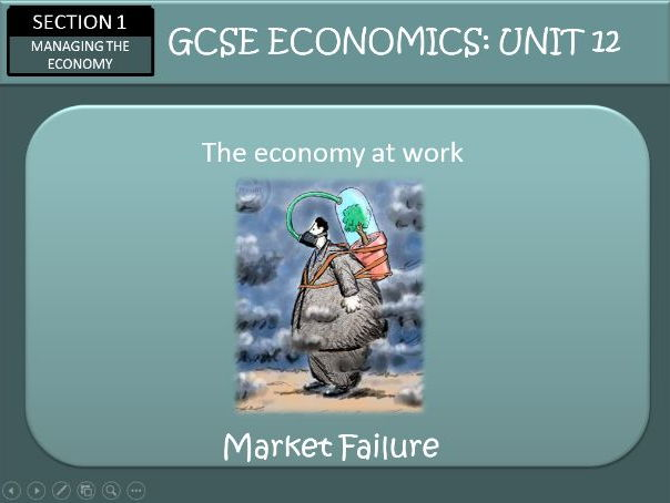 AQA GCSE Economics Unit 12 The Economy at Work Part One