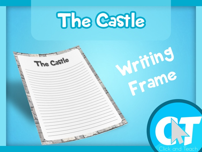 The Castle - Writing Frame Page Border