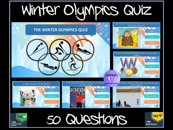 The Winter Olympics 2018 Quiz - 50 Questions