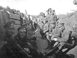 In The Trenches: A song set in World War 1